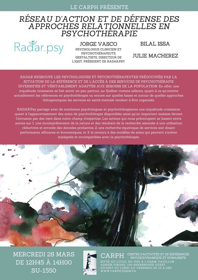 Conférence de Radar.Psy