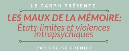 Les maux de la mémoire: états-limites et violences intrapsychiques
