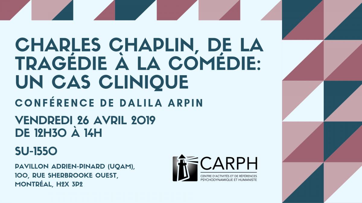 Charles Chaplin, de la tragédie à la comédie: un cas clinique