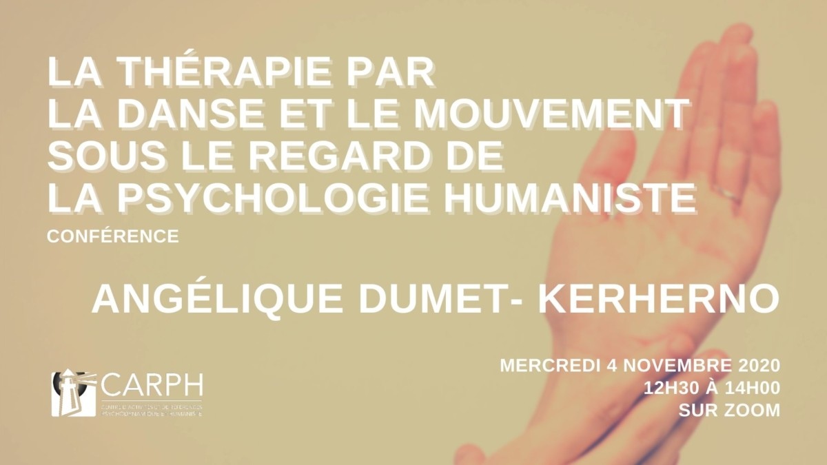 La thérapie par la danse et le mouvement sous le regard de la psychologie humaniste